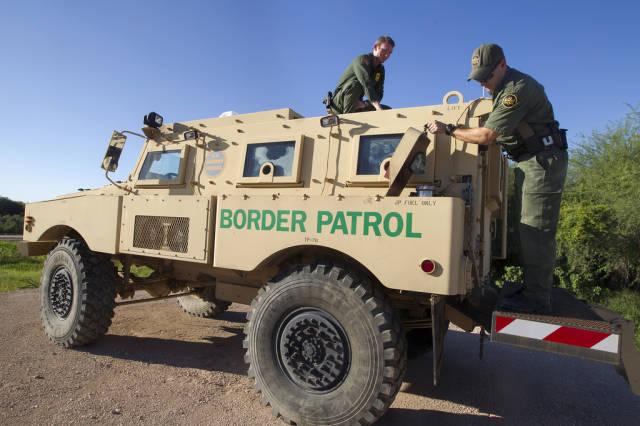 الحدود الأمريكية