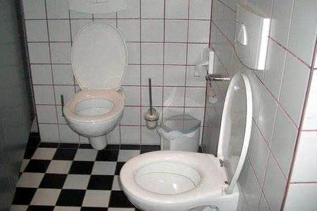 حمام مزدوج