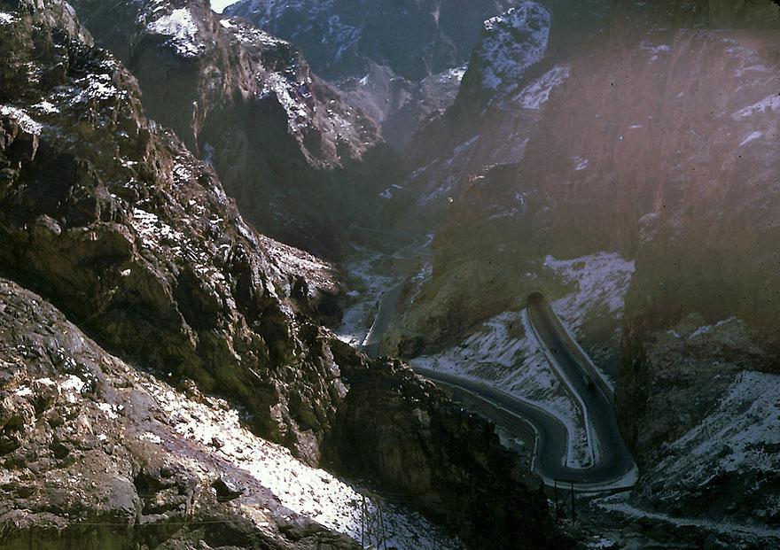 طريق كابل جبلي