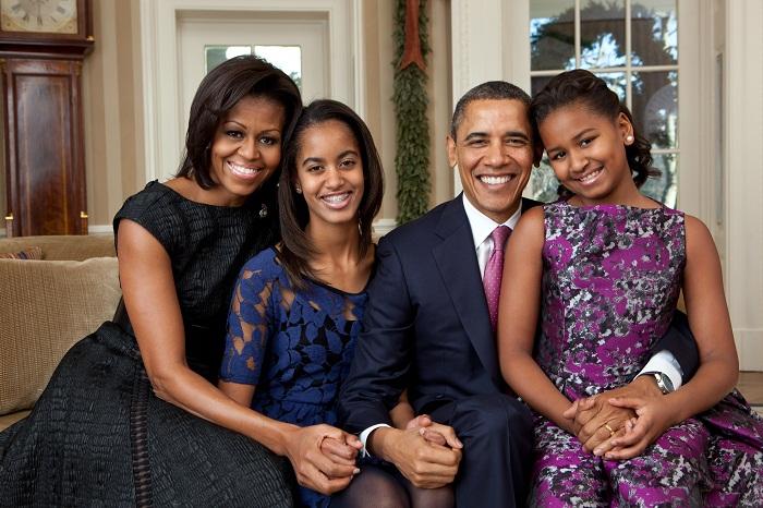 عائلة الرئيس الأمريكي