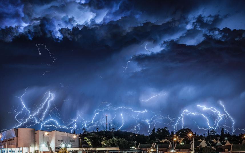 عاصفة برقية