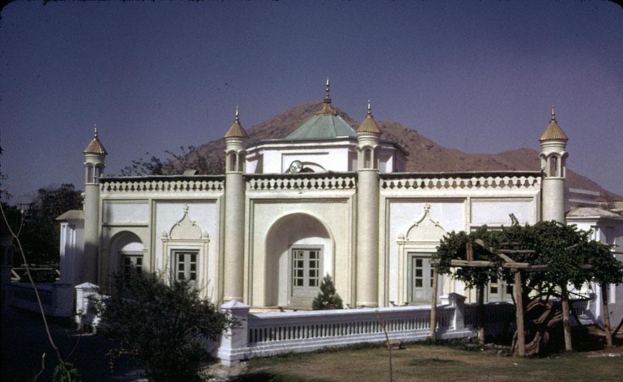 مسجد في وسط كابل