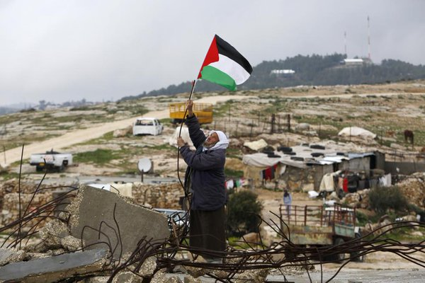 مسن فلسطيني