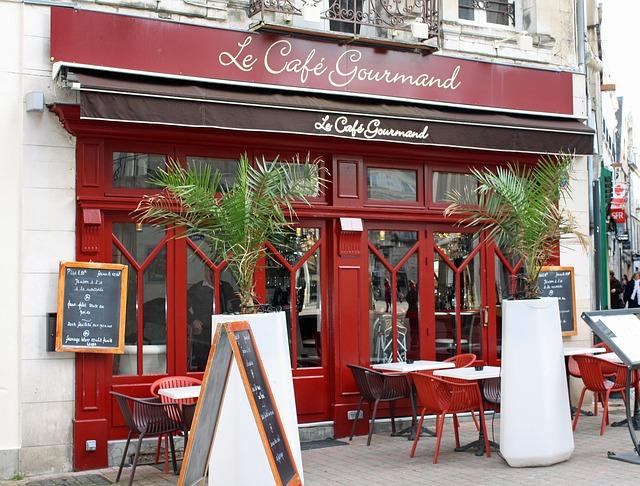 مقهى فرنسي