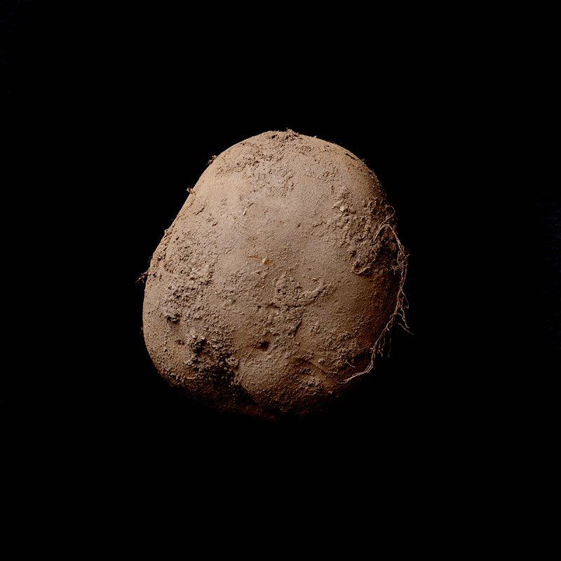 صورة لحبة بطاطس بمليون يورو