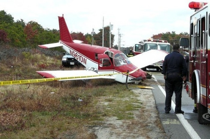حوادث طائرات