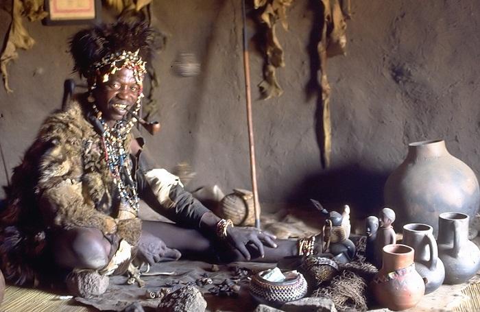 طقوس القبائل الأفريقية