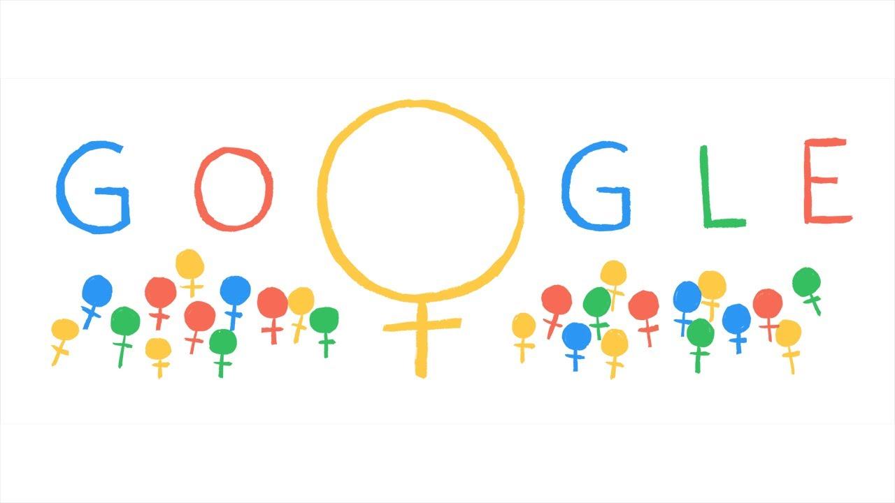 يوم المرأة العالمي من جوجل