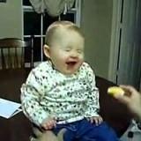 ردة فعل طفل