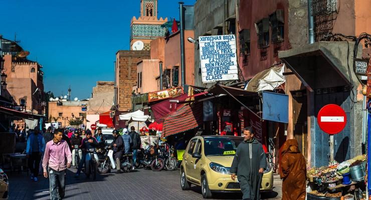صور: كيف هي الحياة في شوارع مراكش المغربية؟