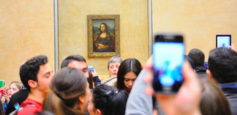 ممنوع التصوير في المتاحف