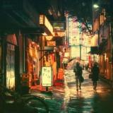 صور طوكيو ليلا