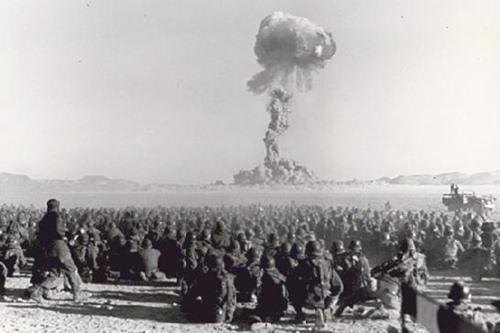 التجربة النووية