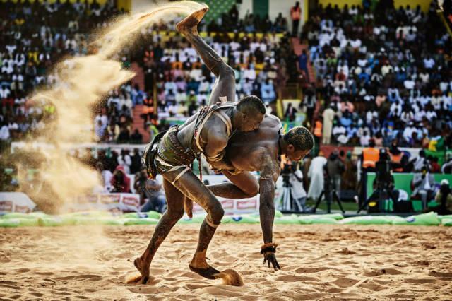 المصارعة السنغالية