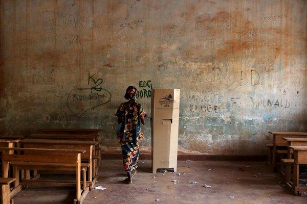 انتخابات أفريقيا الوسطى