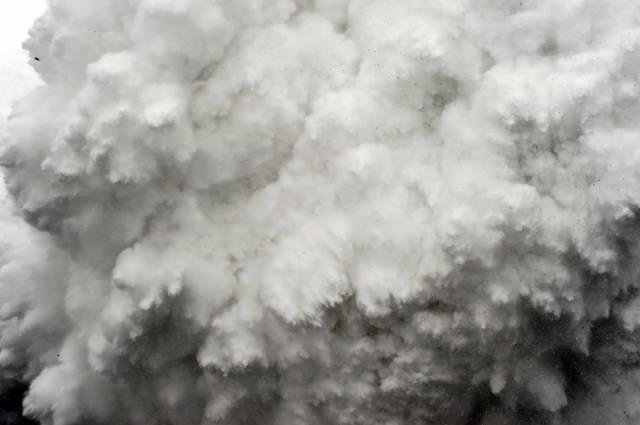 انهيار ثلجي