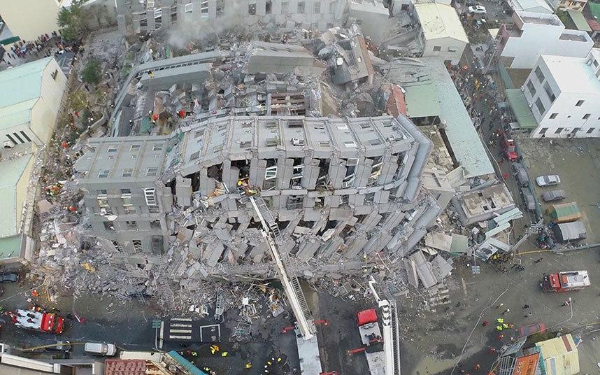 انهيار مباني