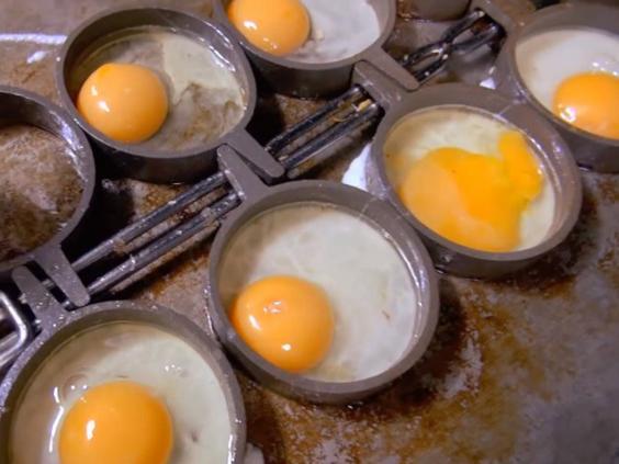 حفظ البيض المطهو