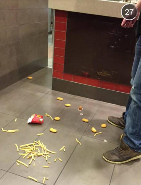 سقوط البطاطس