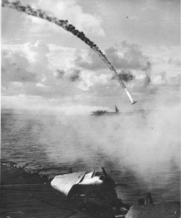 سقوط طائرة يابانية