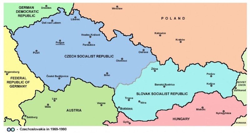 سلوفاكيا وجمهورية التشيك