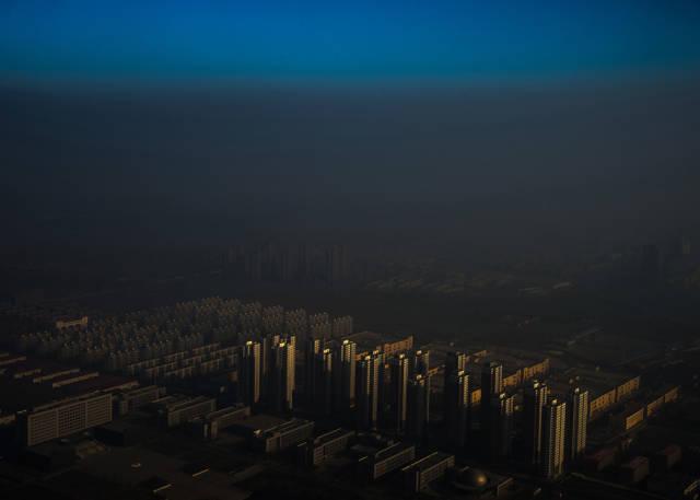 ضباب الصين