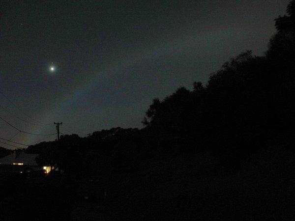 ظاهر قوس القمر