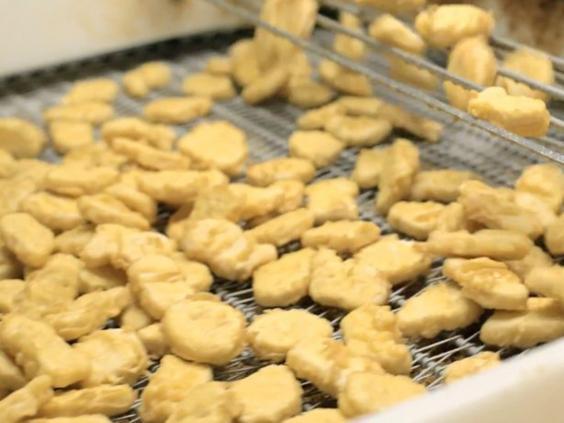 قطع الدجاج المقلية