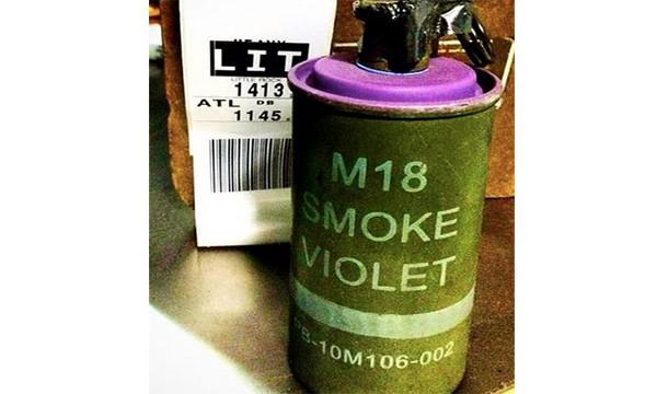قنبلة دخانية