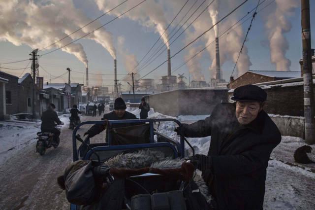 محطة كهرباء صينية