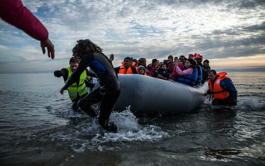 مهاجرين ولاجئين