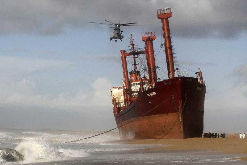سفن ضلت طريقها