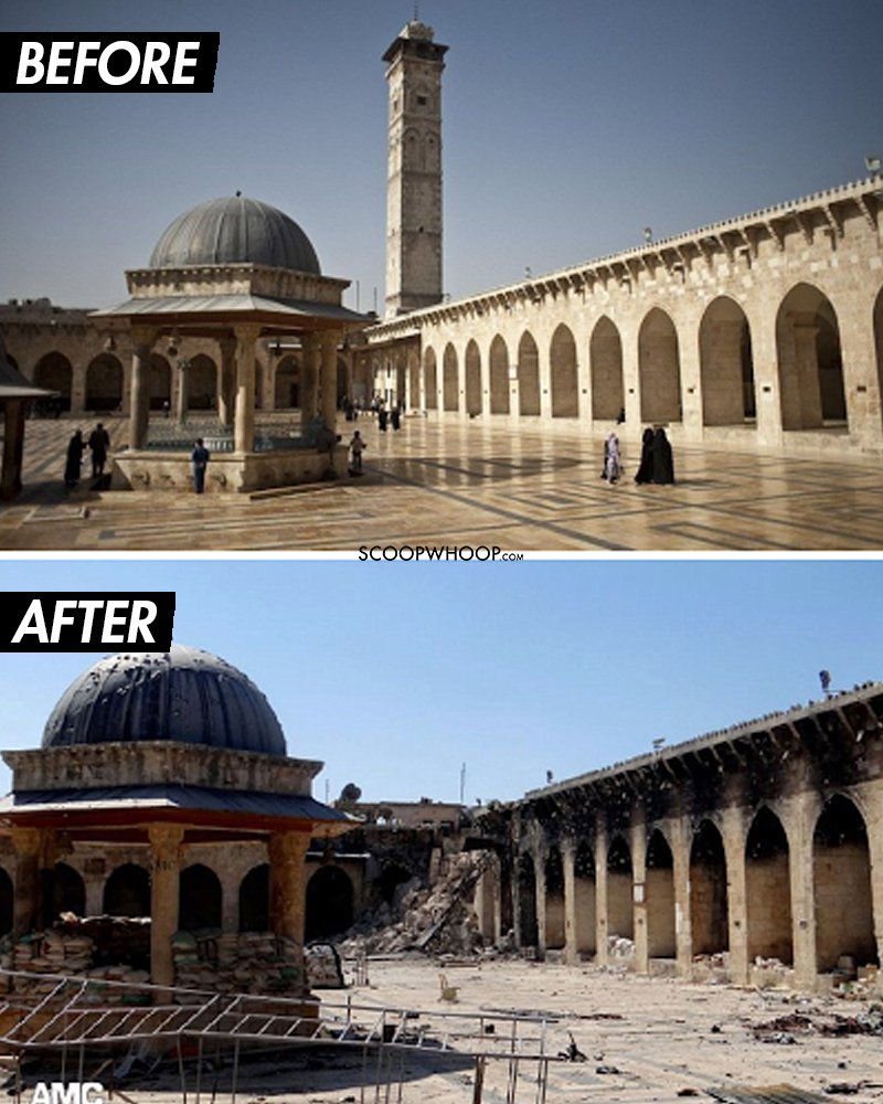 مواقع تراثية دمرتها الحروب