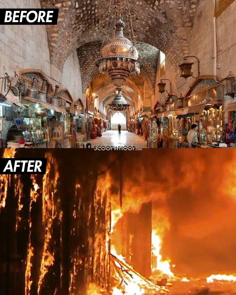 المعالم التاريخية في العالم بين العمار والدمار