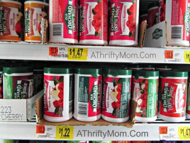المواد الغذائية في الثلاجة