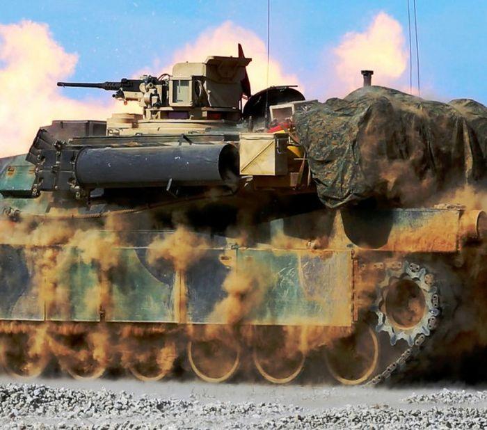 قذائق الدبابات في المعركة