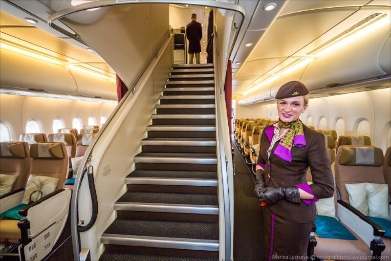 الرفاهية في أكثر طائرات طيران الاتحاد فخامة