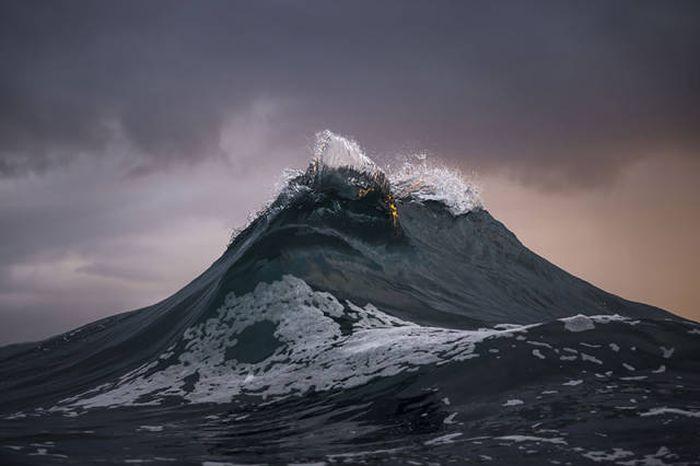 صور جميلة لأمواج البحر