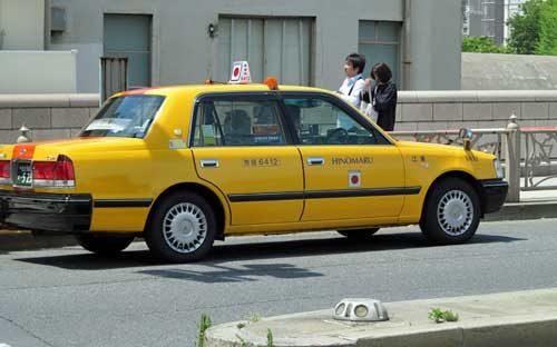 سيارات أجرة في اليابان