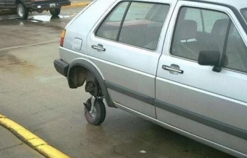 تعديلات غريبة للسيارات