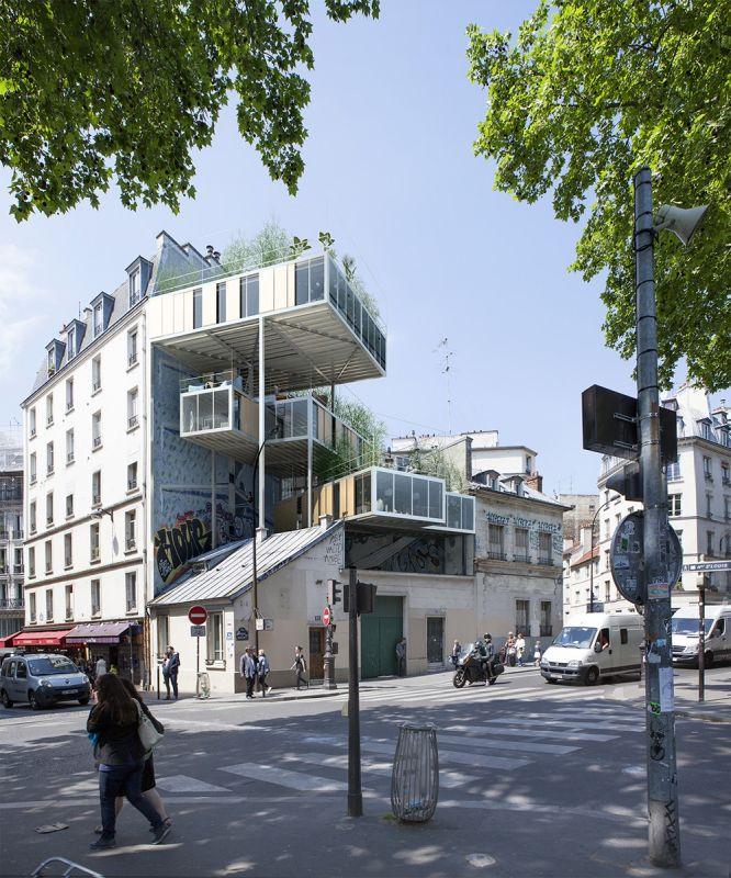 منازل متطورة في فرنسا