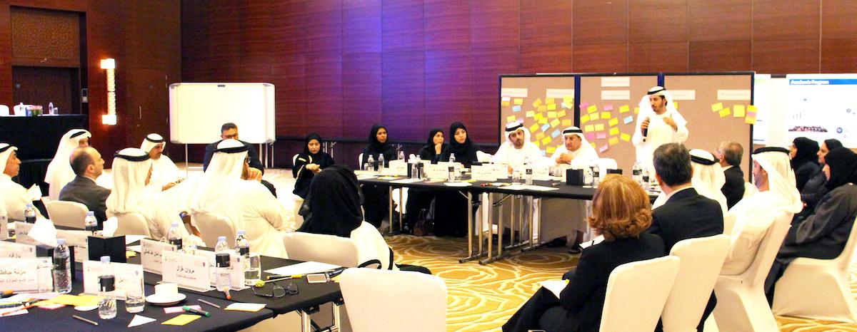 محمد بن راشد للإدارة الحكومية في جلسة عصف ذهني تناقش أحدث أساليب لإعداد القادة