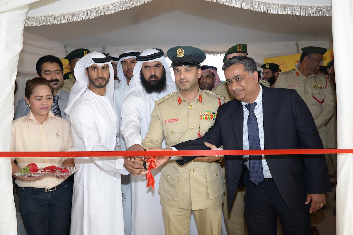 توتال و شرطة دبي