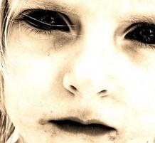أطفال بعيون سوداء