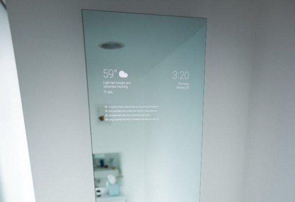 المرآة الذكية