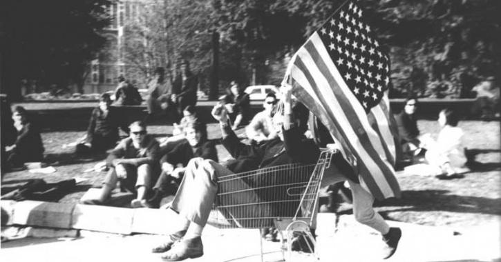 احتجاجات واشنطن
