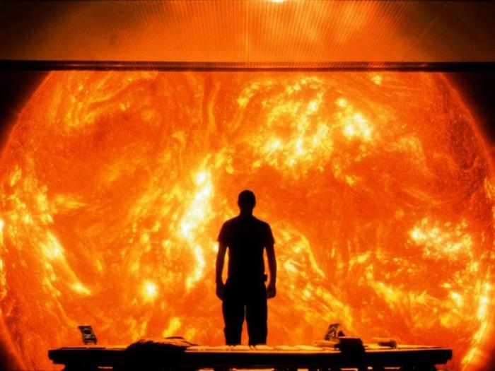 الشمس المحترقة