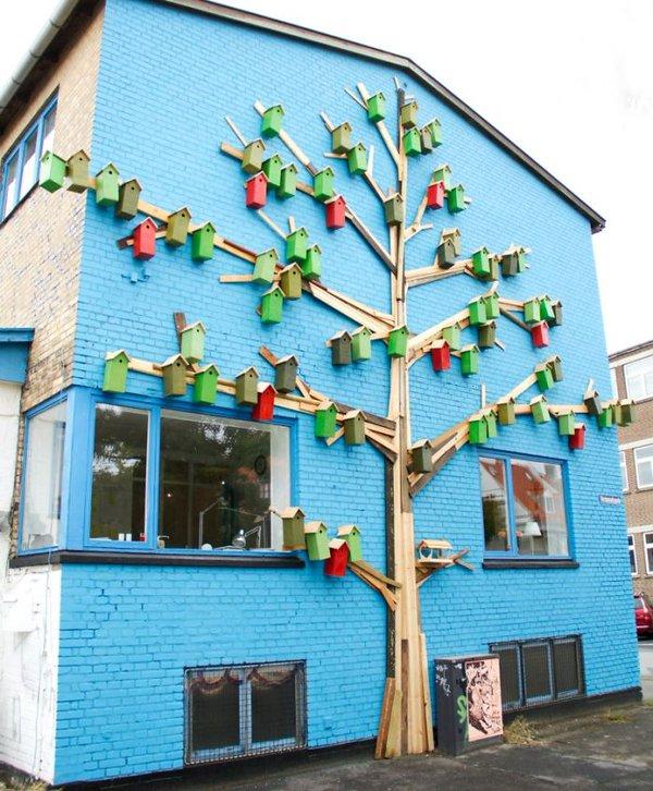 بيوت للعصافير