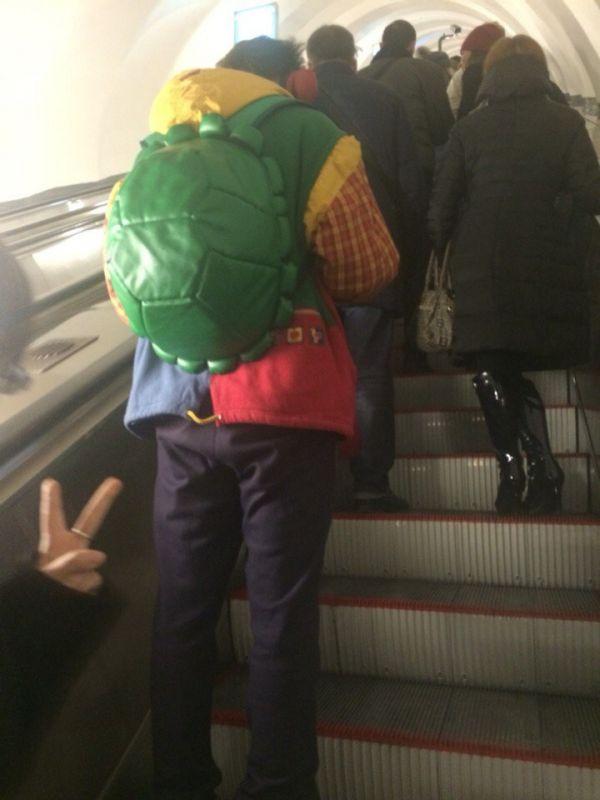 حقيبة ظهر طريفة