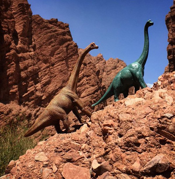 دمى ديناصورات